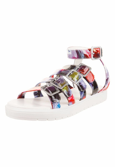 Sandalias Multicolor Anca Y Co. Outlet Liquidación