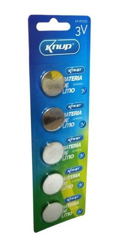 Bateria Cr2032 3v Lithium Cartela Com 5 Und. Placa Mãe..