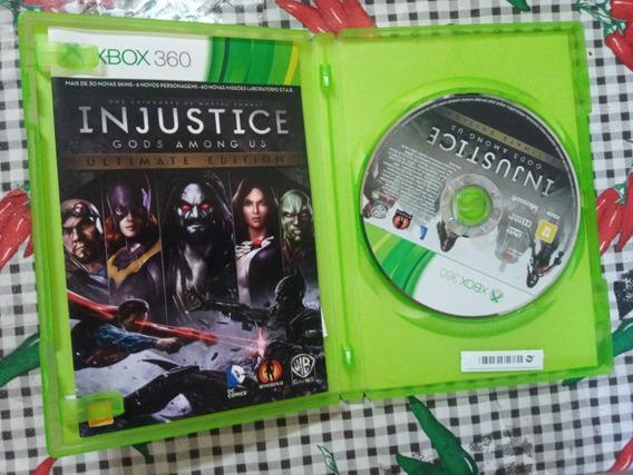Injustice Ultimate Edition Xbox 360 Original Em Midia Fisica