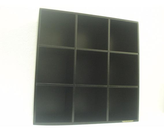 Estante Nichos Porta Cds E Objetos Linha Black