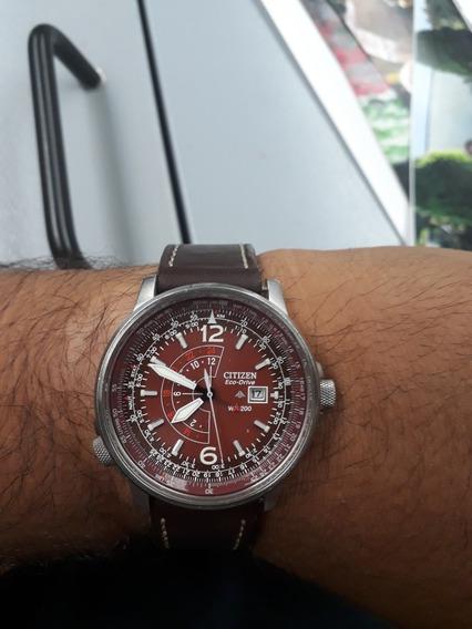 Reloj Citizen Nighthawk Color Tabaco