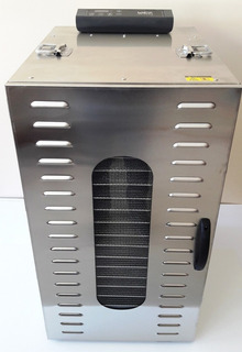 Deshidratador / Secador De Alimentos De 25kg / Acero Inoxida