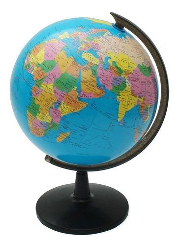 Globo Terráqueo 25cm Diámetro Político Mundo Mapas Mapamundi
