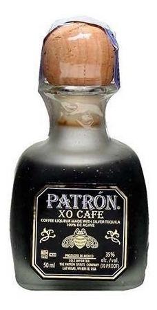 Kit C/ 12 Tequila Xo Cafe Patron 50ml Mini Baby *envio 24hs