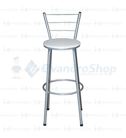 Banqueta / Banco / Cadeira Alta Em Aco *