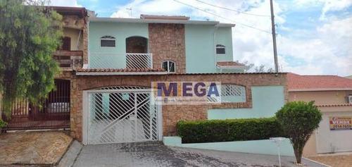 Casa Com 3 Dormitórios À Venda, 170 M² Por R$ 579.900 - Loteamento Parque São Martinho - Campinas/sp - Ca2241
