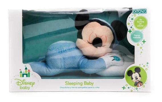 Mickey Mouse Sleeping Mickey De Peluche