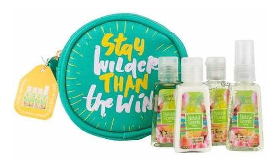 Cosmetiqueras Con Kit De Belleza De Natural Scents