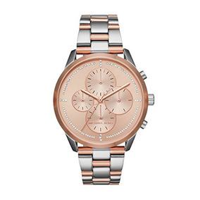 Relógio Michael Kors Mk6520 Slater Two-tone Link Bracelet