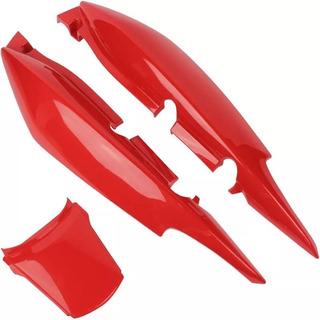 Rabeta Completa Paramotos Fan 125 Ks Es 2011/2012 - Vermelho