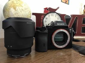 Câmera Sony A7 Full Frame + 28-70 Com Caixa E Nota