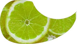 Escudo Palheteira Resinada Violão Aço Sônica Acid Fruit
