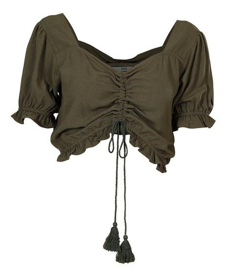 Blusa Cropped Feminina Acrobat