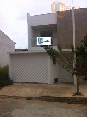 Excelente Casa Duplex No Vale Das Palmeiras Em Macaé. - Ca0345