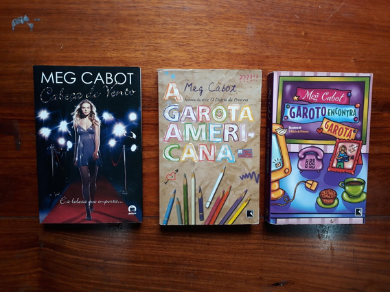 Livros Da Mega Cabot (3 Livros)