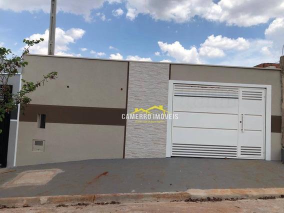 Casa Com 2 Dormitórios À Venda, 90 M² Por R$ 550.000 - Jardim San Marino - Santa Bárbara D