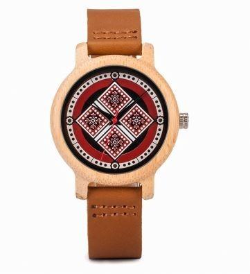 Relógio Feminino Bambu Analógico Bobo Bird J20 Exclusivo