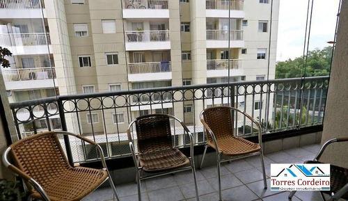Apartamento Com 3 Dormitórios + 2 Vagas - Vila Andrade - Ap0394