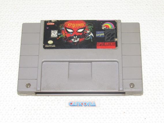 Spiderman Original Super Nintendo
