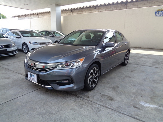 Honda Accord 2.4 Exl Navi Mt 2016 Acero
