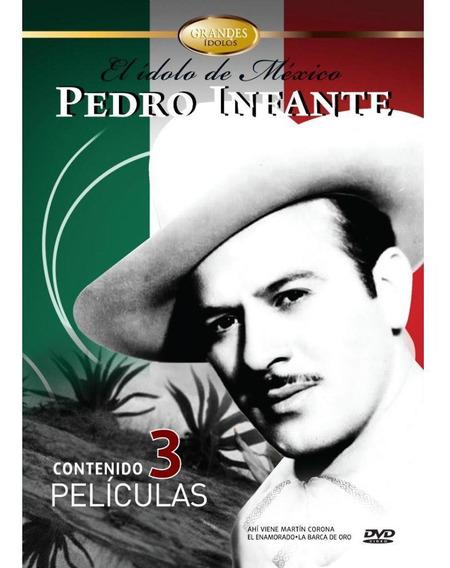 Pedro Infante El Idolo De México Col Aniversario - Dvd - S4