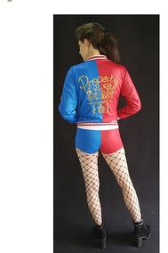 Promoção Jaqueta Cosplay Harley Arlequina (sem Short Camisa)
