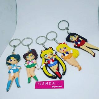 Llavero Sailor Moons X 5 Unidades