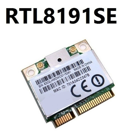 Mini Pci Toshiba A505 Wireless + Bluetooth Rtl819se