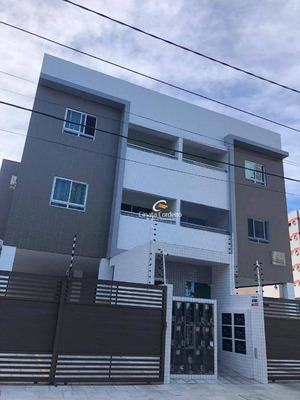 Apartamento Térreo Com 2 Dormitórios À Venda, 62 M² Por R$ 280.000 - Bessa - João Pessoa/pb - Gd0058
