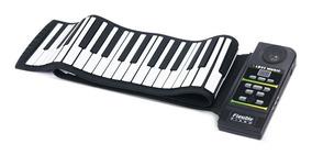 88 Teclas Mão Rolo Piano Portátil Teclado Dobrável Piano