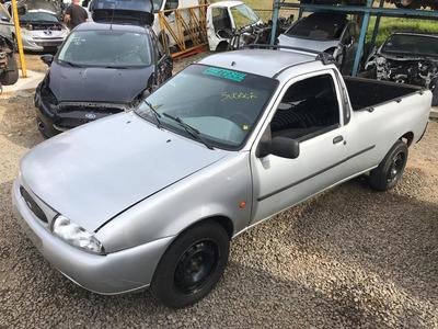 Sucata Ford Curier 1.4 16v Gasolina 1999 Rs Caí Peças