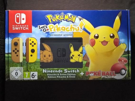 Nintendo Switch Edição Especial Pokémon Lets Go