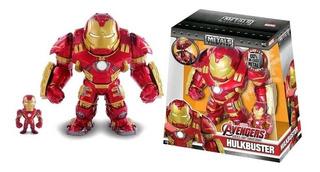 Hulkbuster Y Extraible Iron Man Avengers 6.5 Metalfigs Jada