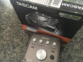 Interface De Áudio Tascam Us-366