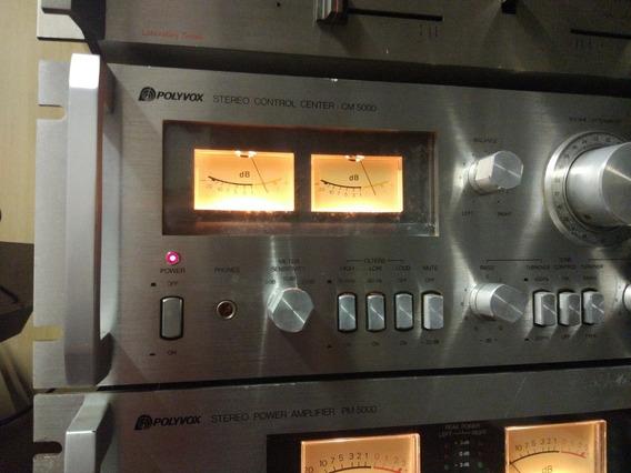 Pré Amplificador Cm 5000 Polyvox Não Gradiente Quasar .