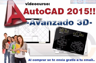 Aprende Autocad En 3d +gratis Bloques 3d +envio Gratis!!