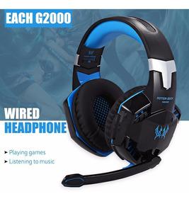 Fone De Ouvido Kotion Each G2000 Headband Jogo Headset