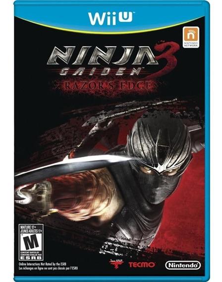 Ninja Gaiden 3 - Razors Edge Usado - Nintendo Wii U