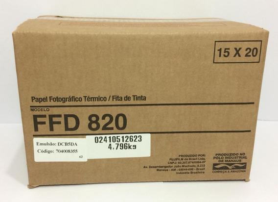 Papel D820 Para Impressora Mitsubishi Cpd-d80dws