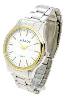 Reloj Dakot Hombre 113 H - Metal Analógico Clásico