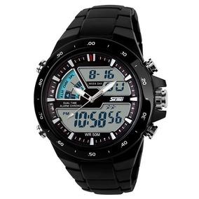 Relógio Digital E Analógico Skmei 1016