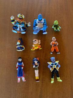 Muñecos Dragon Ball Z Bs/s.ta - Sobre Plateado - Venta X Uni