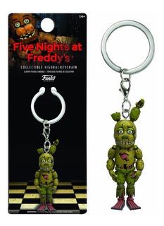 Llavero Springtrap Five Nights At Freddys Keychain De Funko