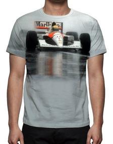 Camisa Camiseta Ayrton Senna - Fórmula 1 - Promoção