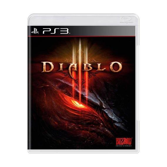 Diablo Iii - Diablo 3 Ps3 Original Midia Fisica Seminovo