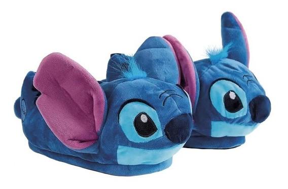 Pantufa 3d Stitch - Ricsen Original Disney - Pronta Entrega