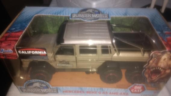 Mercedes-benz G63 Amg 6x6 Jurassic World - Jada 1:24