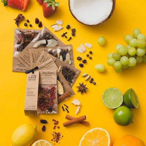 1 Kit De Especiarias Para Gin Tônica (6 Sachês)