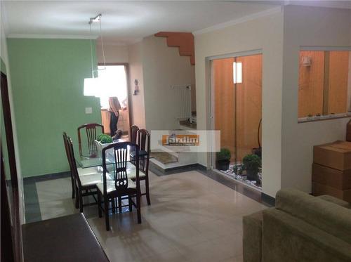 Imagem 1 de 23 de Sobrado Com 3 Dormitórios À Venda, 240 M² - Nova Petrópolis - São Bernardo Do Campo/sp - So0855