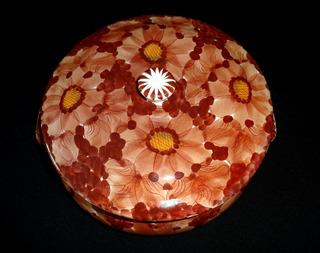 Sopeira Antiga Vintage Etienne Decoração Floral 27 Cm Aff01